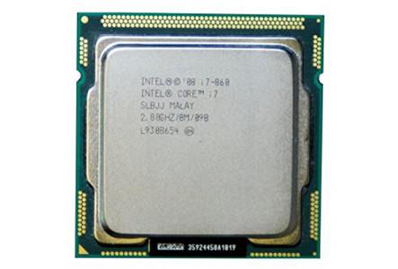 Процессор Intel Core i7-860 Lynnfield (2800MHz, LGA1156, L3 8192Kb) OEM