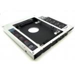 """Салазки для установки HDD, SSD 2.5"""" SATA в отсек для оптического привода толщиной 12,7 мм"""