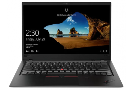 "Ноутбук Lenovo THINKPAD X1 Carbon Ultrabook (6th Gen) (Intel Core i7 8550U 1800 MHz/14""/1920x1080/16GB/256GB SSD/DVD нет/Intel UHD Graphics 620/Wi-Fi/Bluetooth/LTE/Windows 10)"