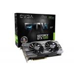 Видеокарта EVGA Geforce GTX 1080 FTW DT (08G-P4-6284-KR)