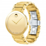 Наручные часы MOVADO 0607180 Sapphire Yellow-Gold Tone Watch
