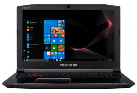 "Ноутбук Acer Predator Helios 300 (PH315-51-70YJ) (Intel Core i7 8750H 2200 MHz/15.6""/1920x1080/16GB/1256GB HDD+SSD/DVD нет/NVIDIA GeForce GTX 1060/Wi-Fi/Bluetooth/Windows 10 Home)"