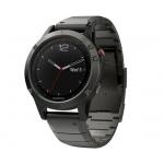 Часы Garmin Fenix 5 Sapphire с металлическим браслетом (+силиконовый ремешок)