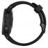 Часы Garmin Fenix 5S Plus Sapphire (Черные, Черный ремешок)