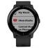 Часы Garmin Vivoactive 3 Music (Черные, Черный ремешок)
