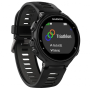 Часы Garmin Forerunner 735XT (Черные, Черный ремешок)