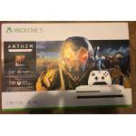 Игровая приставка Microsoft Xbox One S 1 ТБ + игра Anthem в комплекте
