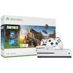 Игровая приставка Microsoft Xbox One S 1 ТБ + игра Fortnite в комплекте