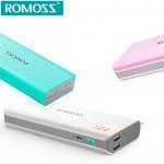 Внешний аккумулятор Romoss sense 4 LED 10000 mAh