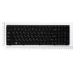 Клавиатура для ноутбука Lenovo IdeaPad G570 (KBLV_G570)