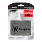 "SA400S37/240G жесткий диск SSD 240Gb, SATA III, 2.5"", Kingston A400"