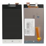 8S дисплей в сборе с тачскрином для HTC для Windows Phone 8s белый