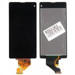 D5503 дисплей в сборе с тачскрином для Sony для Xperia Z1 Compact D5503 черный, царапины, потертости
