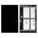 B8000 дисплей в сборе с тачскрином для Lenovo для Yoga Tablet 10 B8000 черный царапины, потертости
