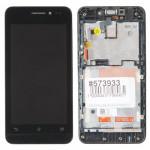 A450CG дисплей в сборе с тачскрином и передней панелью для ASUS для ZenFone 4 A450CG черный царапины потертости