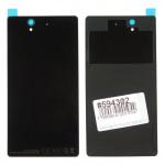 D6603 задняя крышка для Sony для Xperia Z C6603 черная царапины потертости