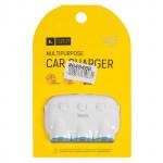 6957531033431 автомобильное зарядное устройство 3 в 1 HOCO c1, белый